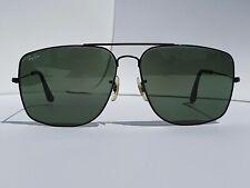 Vintage B&L Ray-Ban USA Black Caravan Explorer Sunglasses Frame 62-14 mm