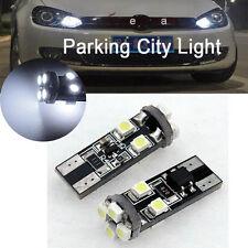 6000K White 501 T10 8-SMD Error Free Canbus Mercedes LED Parking Lights (2 Pcs)