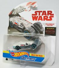 Hot Wheels Star Wars Carships MILLENNIUM FALCON Great for Tracks NEW