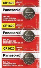 [ 3 pcs ] -- Panasonic Cr1620 3v Lithium Coin Cell Battery Dl1620 Ecr1620