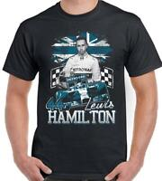 Lewis Hamilton Shirt Black S-3XL 2020 6X F1 World Champion T-Shirt Men's Women