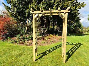 Wooden Rose Arch 4FT 9CVRA2)