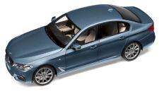 BMW Miniatur 5er G30 Bluestone 1:18 - Sammlermodell - Modellauto
