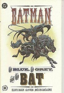 °BATMAN THE BLUE THE GREY & THE BAT TPB° DC 1992 English Prestige Format OneShot