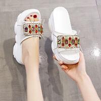 Winter Womens Warm Home Indoor Plush Bunny Rabbit Slippers Shoes Korean Round SZ