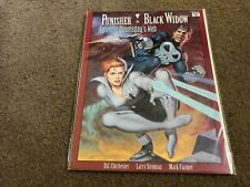 vintage Marvel Graphic Novel Nm - Punisher Black Widow Spinning Doomsdays Web