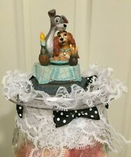 Disney Inspired Lady and the Tramp Cake-Topper-Party-Decoration