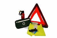 Car Winter Safety Kit:Warning Triangle,First Aid Kit,Fire Extinguisher