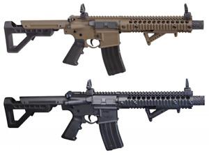 DPMS SBR Crosman - Full Auto CO2 Powered BB Gun Air Rifle - 430 FPS - 1400 RPM