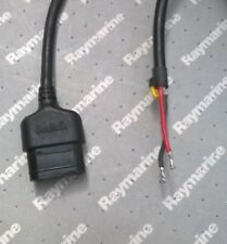 Raymarine Seatalk ST30, ST40, ST60, ST80, ST60+ 2m Power Cable Lead D229