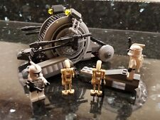 LEGO Star Wars 7748 Corporate Alliance Tank Droid 100% Complete w/Manual & Figs