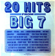 20 HITS FROM BIG 7 - PROMO ONLY- VARIOUS ARTISTS LP - STILL SEALED