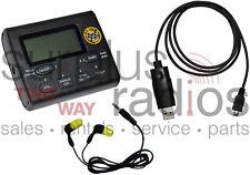 NEW VHF PIT CREW SCANNER FM RADIO KIT 2400 FREQUENCIES 50CH HAM RACING