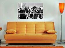 "Public Enemy 35""X25"" Inch Mosaic Wall Poster Hip Hop Old-School Flava Flav"