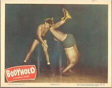 1950 MOVIE LOBBY CARD #2-898 -  BODYHOLD - WRESTLING