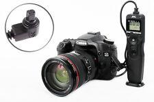Trigger a distanza con timer adatto a Canon EOS 50d 40d 30d 20d 7d 5d...