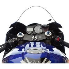 "Motorcycle Fork Stem Mount Kit 13.3mm-14.7mm Suits RAM 1"" GPS Camera Phone Nav"
