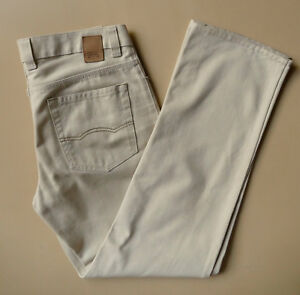Camel Active regular fit cotton sueded drill jeans - size 31  RRP $189 - BARGAIN