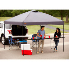 Narrow Folding Table Bar Height Party Canopy Tailgating Picnic Tables 10Ft
