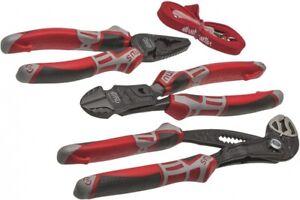 NWS 766 3-teiliger Werkzeugsatz - Kombizange, Seitenschneider, Wasserpumpenzange