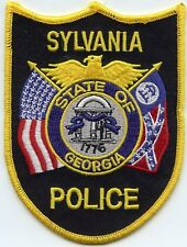GEORGIA POLICE State PATROL Sew Iron On NOVELTY Embroidered PATCH SET 3 Pcs New