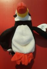 Ty Puffer the Penguin Original Beanie Baby Born November 3, 1997 with tag