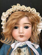 Antique German Kley & Hahn Special Doll Original Antique Clothes & Wig