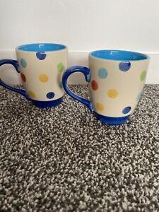 Bright Multicoloured Polka Dot Cute Price & Kennsington Mugs