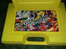 Lot 4.5lbs K'nex Random Mix Pieces Parts Yellow Close Case Knex Rods Connectors