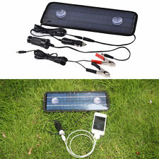 12V 4.5W Leisure Battery Charger Portable Travel Car Boat Power Solar Panel Kits