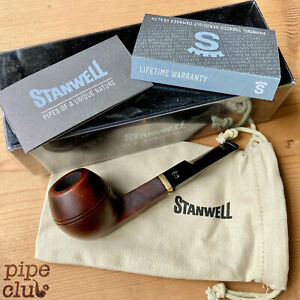 Stanwell De Luxe Smooth 32 Bulldog - Straight Pipe - NEW