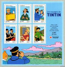 Bloc Feuillet BF109 - Les voyages de Tintin - 2007