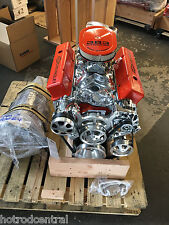 383 STROKER CRATE MOTOR 460HP SBC WITH A/C ROLLER TURN KEY SBC CNC BELOW COST