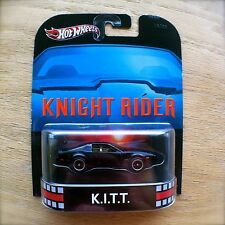 Hot Wheels KNIGHT RIDER K.I.T.T. Diecast 2013 RETRO ENTERTAINMENT KITT Mattel