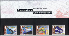 1988 Transport and Communications Europa Mint Stamps - Presentation Pack #190