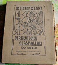 71 Meisterwerke Der Deutschen Glasmalerei,Chefs-d'œuvre peinture Allemand 1903
