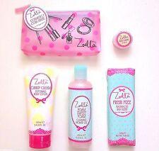 ZOELLA Nuovo di Zecca Beauty Rosa Borsetta Bath and Body Set Regalo