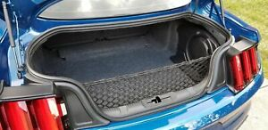 Rear Trunk Envelope Style Organizer Cargo Net for FORD MUSTANG 2015-2021 New
