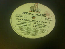 """12"""" MIX MR. OZ CEREBRAL WAVE PART 1 CAT. MM 007-94 VG ITALY PS 1995 4 TRACCE"""