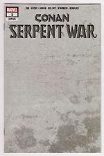 CONAN Serpent War #1 1:200 Stone Blank Sketch Variant NM