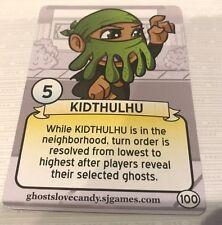 Ghosts Love Candy: Kidthulhu Promo Card, NEW