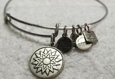 Alex and Ani Silver Bangle Bracelet Sun 2015