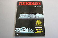 X046 FLEISCHMANN Train catalogue Ho 1967 68 38 pg 29,5*21 Français auto rallye
