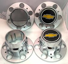 6-LUG CHEVROLET 4X4 6lug 1500 SILVERADO SUBURBAN BLAZER Wheel Center Cap SET NEW