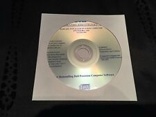 DELL Precision Mobile Workstation M20 M70 Drivers  CD DVD Disc