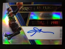 17/18 Panini Select Allen Irverson IN FLIGHT SIGNATURES silver Prizm.#60 SP.