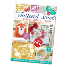Tattered Lace Magazine Issue 33 Complete With Die and Papers A1