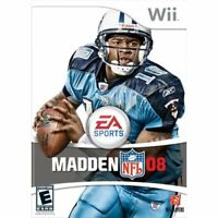 Madden NFL 08 For Wii And Wii U Football Very Good 0E