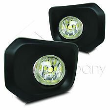 2016 Toyota Tacoma Fog Lamps/Lights w/Wiring Kit & High Power COB LED Bulbs