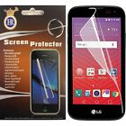 For LG X Power LCD Screen Protector Guard with Micro Fiber Cleaning Cloth